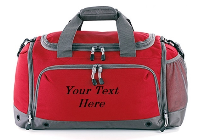 Personalised Sports Holdall Gym Bag